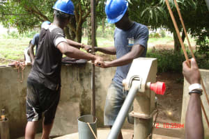 The Water Project: Royema Community A -  Drilling
