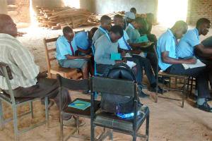 The Water Project: Ebukanga Secondary School -  Training