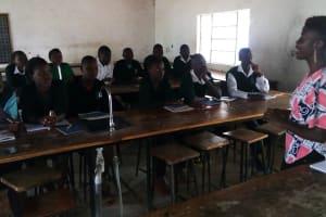 The Water Project: St. Kizito Lusumu Secondary School -  Training