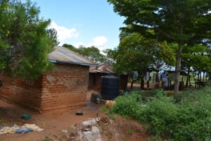 The Water Project: Kathama Community -  Antony Mwaluko Household