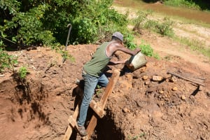 The Water Project: Ngaa Community A -  Well Excavation
