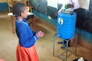 The Water Project: Essunza Primary School -  Hand Washing Demonstration