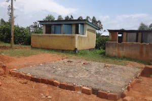 The Water Project: Emukangu Primary School, Butere -  Latrine Foundation