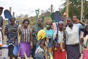 The Water Project: Kaani Community B -  Tool Distribution