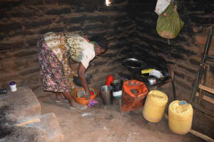 The Water Project: Muselele Community A -  Annah Muia Kitchen