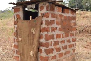 The Water Project: Ilinge Community C -  Janet Mbatha Latrine