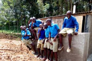The Water Project: Eregi Mixed Primary School -  New Latrines
