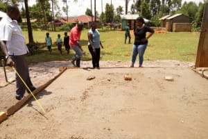 The Water Project: Walodeya Primary School -  Latrine Foundation