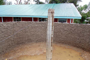 The Water Project: Emurembe Primary School -  Tank Construction