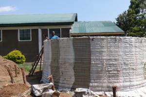 The Water Project: Ibinzo Girls Secondary School -  Construction