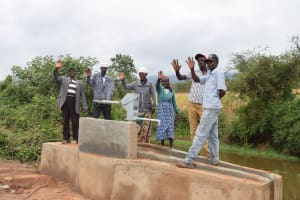 The Water Project: Ngaa Community A -  Clean Water