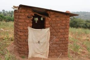 The Water Project: Kithuluni Community A -  Kavila Latrine