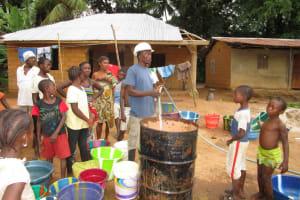 The Water Project: Kafunka Community -  Yield Testing