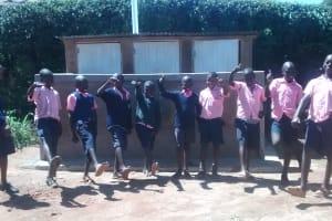 The Water Project: Musudzu Primary School -  Latrine