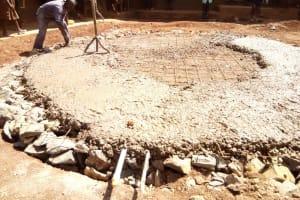 The Water Project: Walodeya Primary School -  Tank Foundation