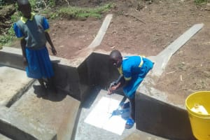 The Water Project: Mumuli Community, Shalolwa Spring -  Clean Water