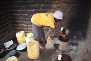 The Water Project: Ilinge Community C -  Janet Mbatha Kitchen