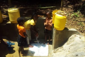 The Water Project: Hondolo Community, Musila Spring -  Clean Water