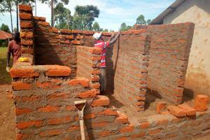 The Water Project: Walodeya Primary School -  Latrine Construction