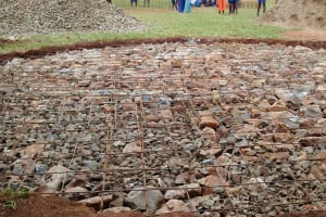 The Water Project: Essunza Primary School -  Tank Foundation
