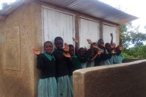 The Water Project: Eshilakwe Primary School -  Latrines