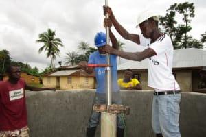 The Water Project: Kafunka Community -  Pump Installation