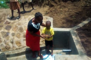 The Water Project: Ebung'ayo Community, Wycliffe Spring -  Clean Water