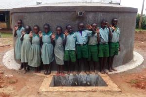 The Water Project: Emukangu Primary School, Butere -  Clean Water