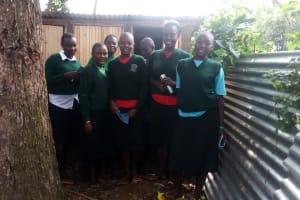 The Water Project: St. Kizito Lusumu Secondary School -  Latrine Management Training