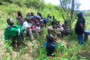 The Water Project: Ebung'ayo Community, Wycliffe Spring -  Training