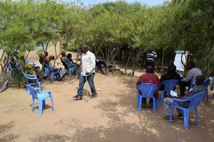 The Water Project: Kaani Community B -  Training