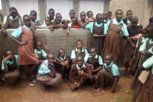 The Water Project: Walodeya Primary School -  Finished Latrines