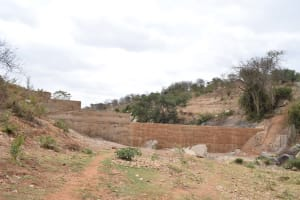 The Water Project: Kaani Community B -  Finished Sand Dam