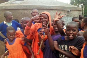 The Water Project: Essunza Primary School -  Clean Water