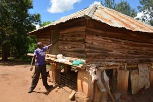 The Water Project: Kathama Community -  Antony Mwaluko Chicken Coop