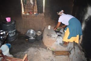 The Water Project: Muselele Community A -  Josephine Kiilu Kitchen