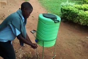 The Water Project: Ebukanga Secondary School -  Hand Washing