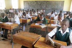 The Water Project: Tulon Secondary School -  In Class