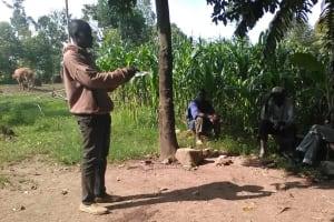 The Water Project: Mumuli Community, Shalolwa Spring -  Training