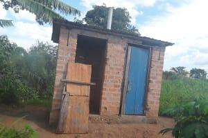 The Water Project: Katugo I-Alu Community -  Latrine