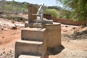 The Water Project: Maluvyu Community A -  Finished Well