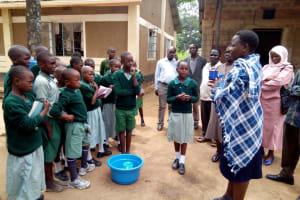 The Water Project: Eshilakwe Primary School -  Brushing Teeth