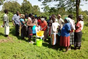 The Water Project: Bukhakunga Community, Indiatsi Omukitsa Spring -  Training