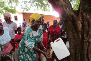 The Water Project: Kafunka Community -  Hand Washing