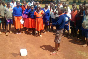 The Water Project: Essunza Primary School -  Solar Disinfection Demonstration