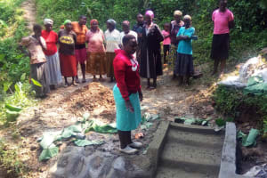 The Water Project: Hondolo Community, Musila Spring -  Training
