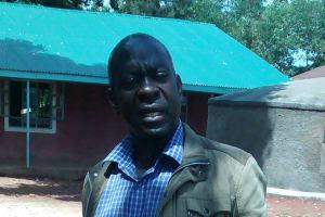 The Water Project: Emurembe Primary School -  Headteacher Jeremiah Masalia