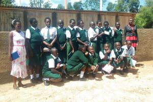 The Water Project: Ibinzo Girls Secondary School -  Training Participants