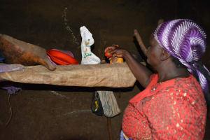 The Water Project: Kathama Community -  Mwikali Household