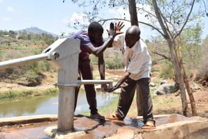The Water Project: Kaani Community E -  Clean Water
